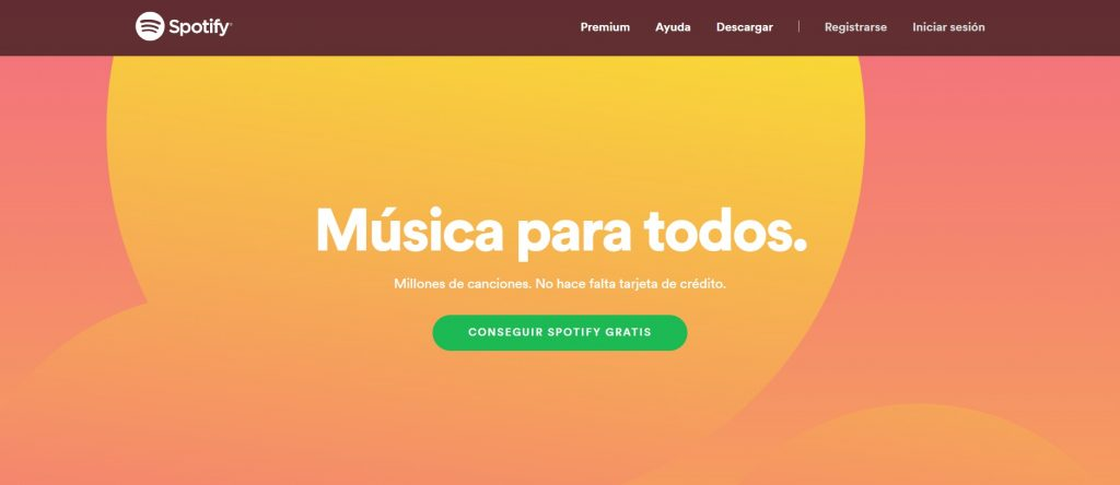 Copywriting ejemplos: Spotify